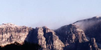 snow on Table Mountain (18 July 1995)