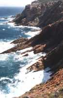 cliffs near Mossel Bay