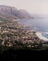 Camps Bay with beach